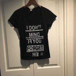 Diesel vintage women's black cotton T-shirt size S